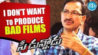 I Don't Want To Produce Bad Films - Bheemaneni Srinivas Rao    Talking Movies With iDream - IDREAMMOVIES