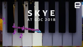 Skye hands-on at GDC 2018 - ENGADGET