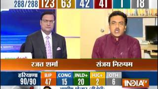 Member of Parliament Sanjay Nirupam speaks with India TV Exclusively. - INDIATV