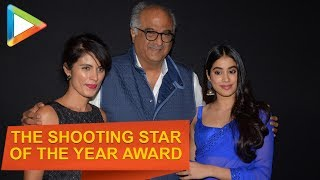 Janhvi Kapoor Receives 'The Rising Star of the Year' Award - HUNGAMA