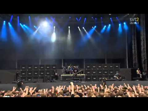 The Big 4 - Slayer - Disciple Live Sweden July 3 2011 HD