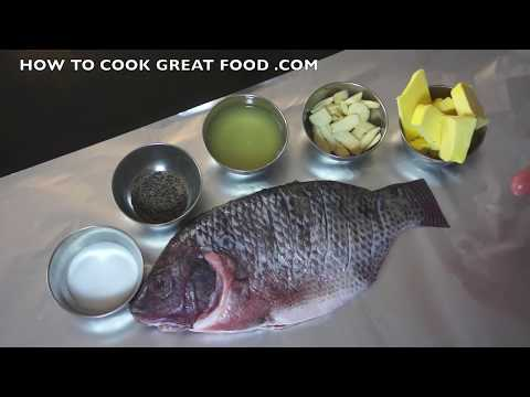 Cooking Fish Recipes on Video