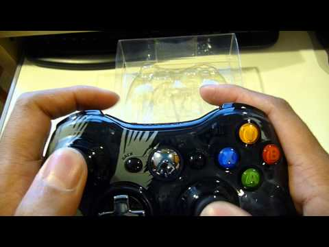 Halo 4  Limited Edition Xbox 360 Controller Unboxing and Review