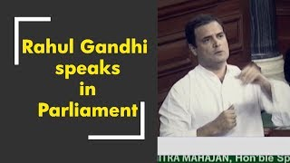 News 100: Rahul Gandhi speaks in Parliament; no secret pact in Raffle deal - ZEENEWS