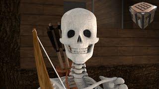 Skeleton Battle! - Realistic Styled Minecraft Animation (Ep. 7)