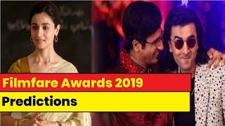 Filmfare Awards 2019 predictions: Alia Bhatt, Ranveer Singh, Vicky Kaushal to bag the coveted trophy - NEWSXLIVE