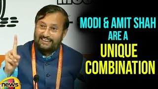 PM and Amit Shah are a unique combination to win more seats than 2014 says Javadekar | Mango News - MANGONEWS