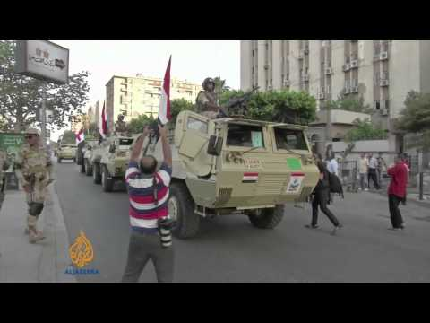 Egyptian army accused of war crimes