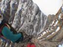 Wingsuit BASE jumping in Baffin Island