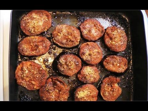 Pieczone bakłażany (melanzane al forno)