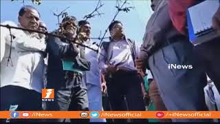 Ministerial Central Team Tour in Penugonda Mandals To Assess Impact Of Drought | Anantapur | iNews - INEWS