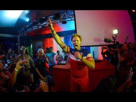 Will Ferrell crashes party and promises to bite German players
