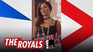The Royals | How to Get Princess Eleanor's Robin Hood Matte Eyes | E! - EENTERTAINMENT