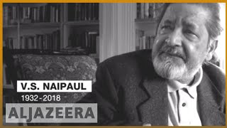 🇬🇧 VS Naipaul, Nobel Prize-winning author, dies at 85 | Al Jazeera English - ALJAZEERAENGLISH