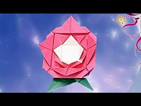 Çocuklar İçin Origami Rose (Öğretici) – Kağıttan Arkadaşlar 21