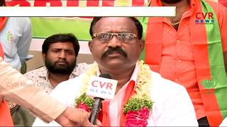 Telangana BJP Leaders Protest at BJP Office | Demand for Serilingampally Ticket | CVR News - CVRNEWSOFFICIAL