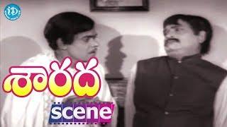 Sarada Movie Scenes - Raja Babu And Allu Ramalingaiah Comedy || Rao Gopal Rao || Sharada - IDREAMMOVIES