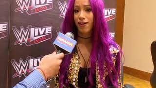 NewsX Exclusive: To have a first ever WWE match in Abu Dhabi was truly an honour; says Sasha Banks - NEWSXLIVE