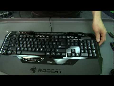 Roccat ISKU FX Gaming Keyboard Unboxing &amp; First Look Linus Tech Tips