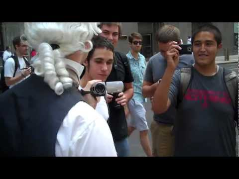 John Adams Speaks with Occupy Protesters at the Chicago NATO Summit