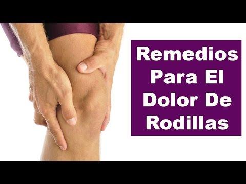 Remedios caseros para el dolor de rodillas - Como aliviar el dolor de rodillas naturalmente
