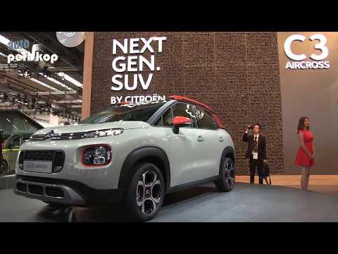 Autoperiskop.cz  – Výjimečný pohled na auta - VIDEO – Citroën SUV C3R aircross – Autosalon Frankfurt 2017