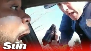 Trooper pulls gun during traffic stop - THESUNNEWSPAPER