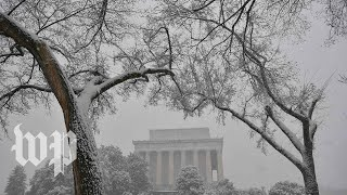 Springtime snowstorm hits D.C. area - WASHINGTONPOST