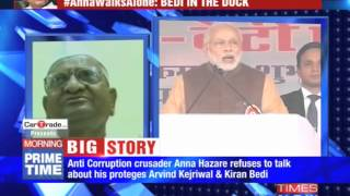 Anna is back, but against BJP - TIMESNOWONLINE