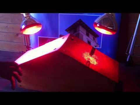 Il tetto energia srl applicazione e verifica di pittura elastomerica su tegola canadese