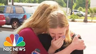 Students, Parents Recount Tragedy In Sante Fe Shooting: Mom, There's Shots In The School! | NBC News - NBCNEWS