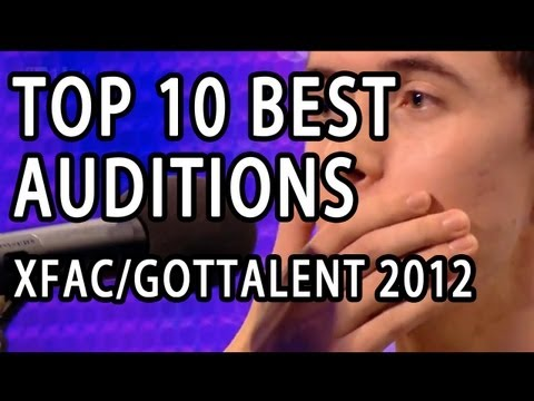 Top 10 Best First Auditions X Factor / Got Talent (USA UK/Britain) 2012 #Top MOST VIEWED