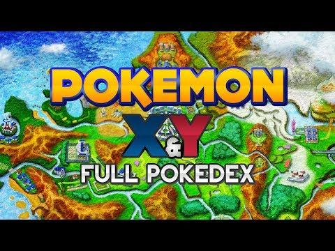 Pokémon X and Y - Kalos Region Pokédex