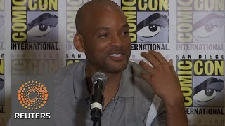 Will Smith revels in racism with 'Bright' - REUTERSVIDEO