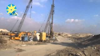 بالفيديو.. توصيل مياه ترعة السلام من سيناء إلي قناة السويس الجديدة