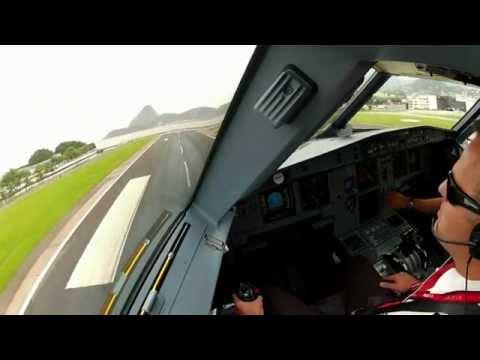 צילום מתא הטייס במטוס נוסעים