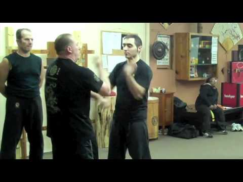 Connecticut Wing Chun, Advanced Pak Sao Drill