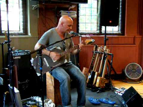 Brickdust-Talkin` About Girls-The First Cambridge Cigar Box Guitar Festival