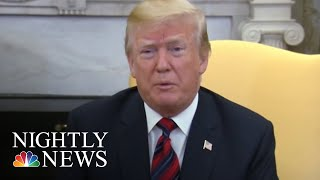 President Donald Trump: North Korea Summit May Not Happen In June | NBC Nightly News - NBCNEWS