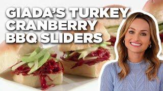 Giada's Turkey Cranberry BBQ Sliders | Food Network - FOODNETWORKTV