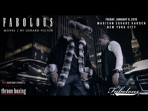 Fabolous - Fabolous At The Roc Nation Throne Boxing Event (Vlog)