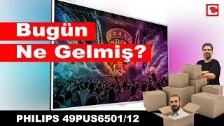 PHILIPS 49PUS6501/12 - Televizyon - Kutu A??l???