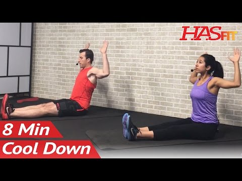 8 Minute Cool Down Exercises After Workout - Cool Down Stretch to Improve Flexibility Stretches