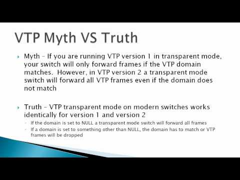 VTP Theory & Operations