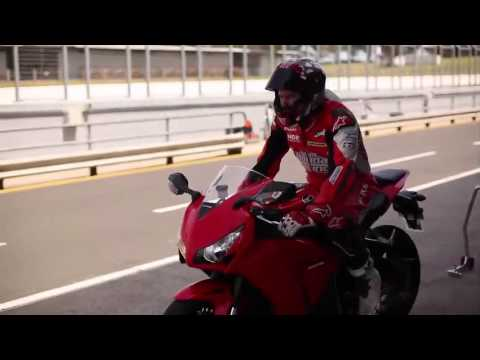 Team Honda Racing Test The 2012 Honda CBR1000RR Fireblade by Honda Motorcycles Australia