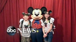 A magical family vacation and Mickey Mouse's surprise - ABCNEWS