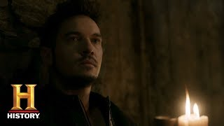 Vikings: Lagertha Visits An Imprisoned Bishop Heahmund | 'A New God' Airs Dec. 12 at 9/8c | History - HISTORYCHANNEL