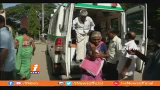 Several Wounded In RTC Bus Mishap In Kadapa | iNews - INEWS