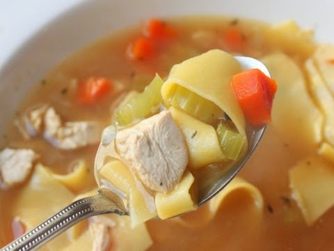 Chicken Noodle Soup - How to Make Classic Chicken Noodle Soup