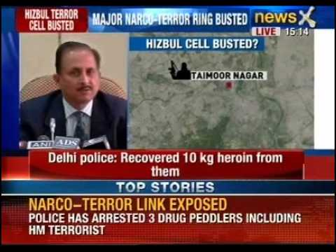 Narco-Terror link exposed: Delhi police recovers 10 kgs of heroin worth Rs. 25 crores